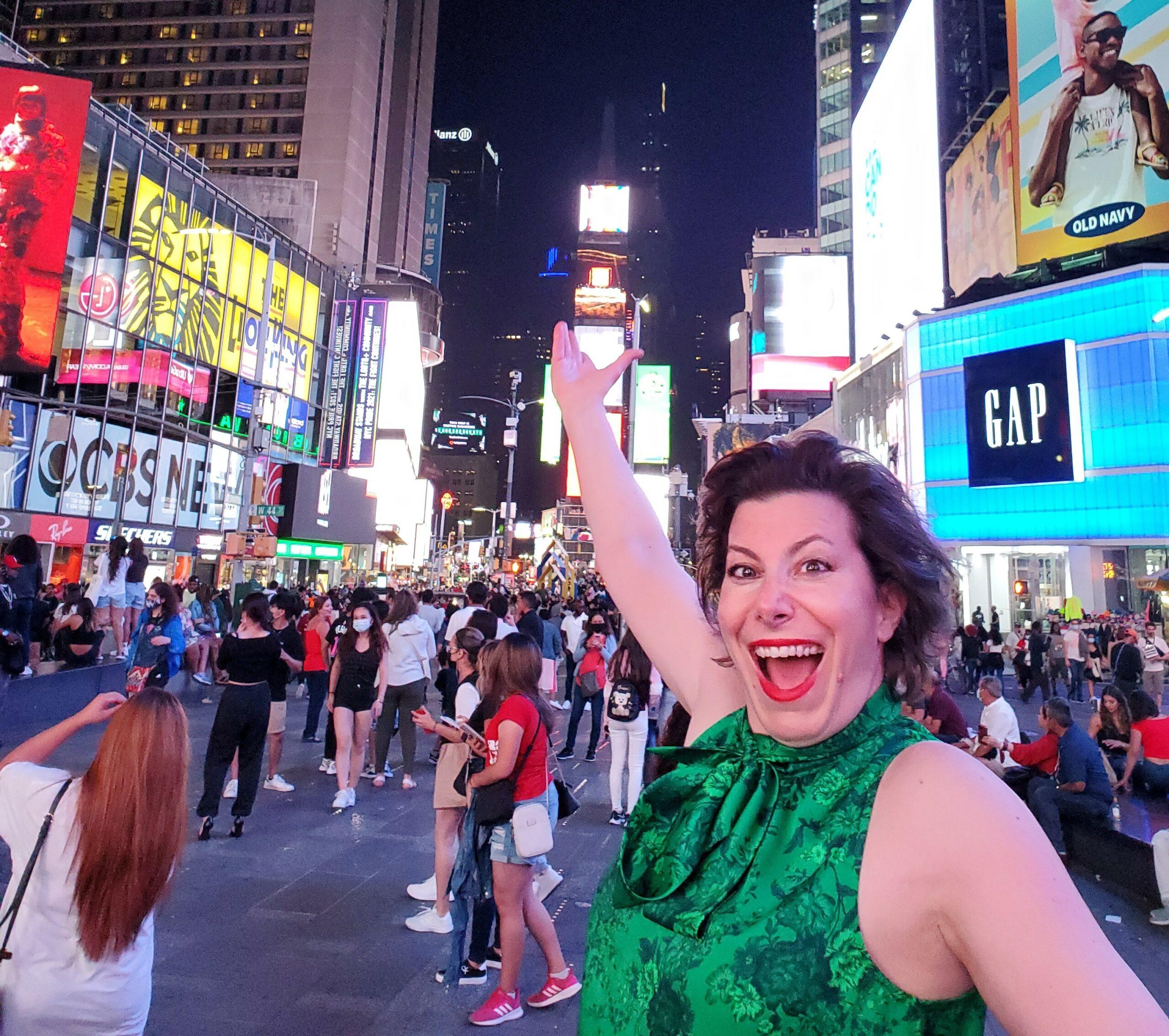 Times Square Cindy Ashton